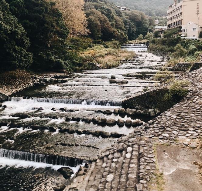 Hakone Hayakawa river