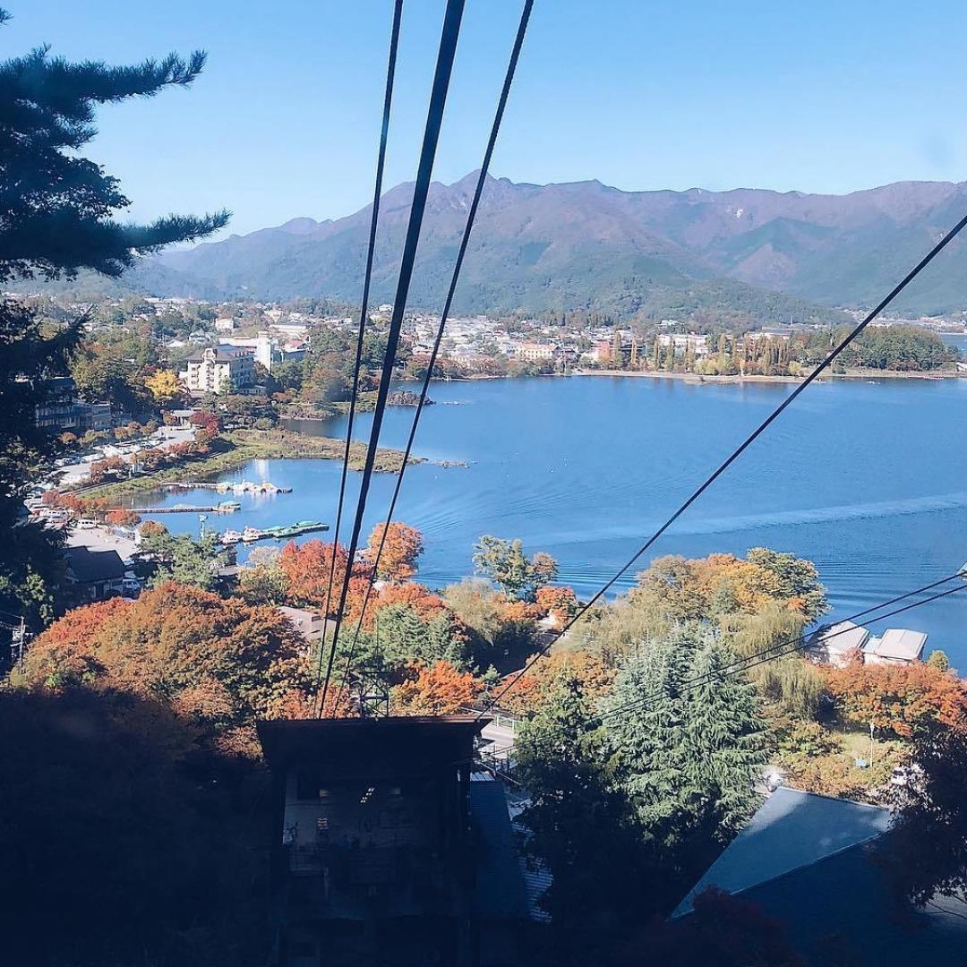 Lake Kawaguchiko view