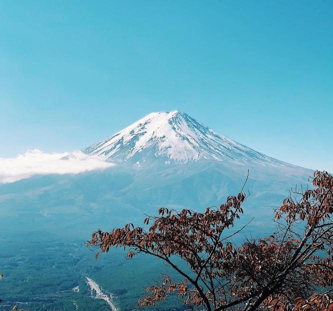 mount fuji oct 2018