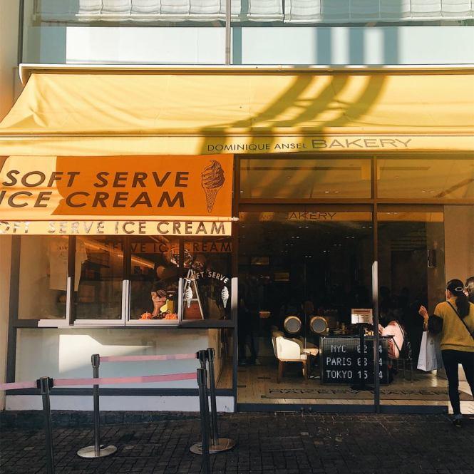Dominique Ansel shop in Tokyo, Japan